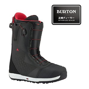 17-18モデル BURTON バートン 【ION ASIAN FIT】 Black/Red 8.5inch(26.5cm) 【Speed Zone】 SNOWBOARD スノーボード 正規品...