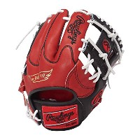 Rawlings(ローリングス)軟式グラブ HOHカラーシンクパッチ Japan Limited GR7FHHS44L RD×Bレッド×ブラック LH