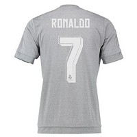 Adidas RONALDO #7 Real Madrid Away Jersey 2015-16( Authentic name and number of player)/サッカーユニフォーム...
