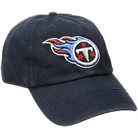 NFL Tennessee Titans ' 47Franchise Fitted帽子、ネイビー、Xラージ