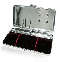 Hanglim Acupuncture Case Stainless Steel Storage Holer Portable Medical Korea ハンレイム鍼治療のケースステンレス鋼のストレ...