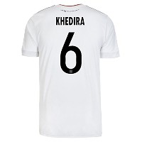 adidas KHEDIRA #6 Germany Home Men's Soccer Jersey FIFA Confederations Cup 2017/サッカーユニフォーム ドイツ ホーム用...