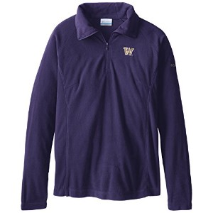 NCAA Washington Huskies Collegiate Glacial II Half Zip Fleece Jacket XL パープル