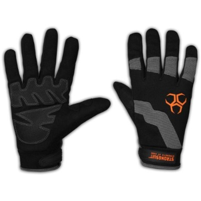 Strong Suit 10200-XXL Strong Suit Dynamo Work Gloves with PVC Palm Pads, XX-Large