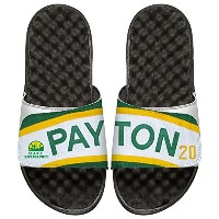 NBA Seattle Supersonics Gary Payton Retired Player islidesジャージー、ホワイト/ブラック、12
