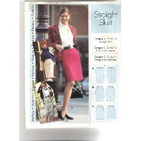 Sewing Step by Step Pattern ~ Misses' / Misses' Petite Straight Skirt ~ Sizes 4-22 by Sewing Step...