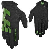SixSixOne 2015 Men's Comp Full Finger Mountain Cycling Gloves - 6985 (Black/Green - L (10)) by 661...