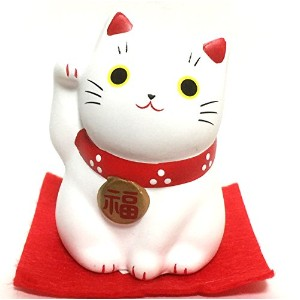 m-ro Maneki Neko Lucky Catホワイト
