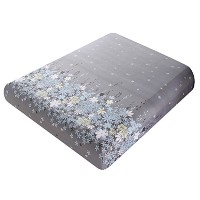 Zhhlaixing 高品質 All Seasons Ultrasoft Extra Deep Plain Fitted Sheet 25cm Deep Modern Printed Bed...