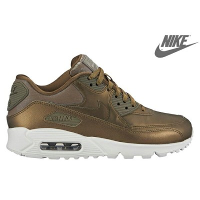 NIKE WMNS AIR MAX 90 PRM 896497-901 MTLC FIELD/MTLC FIELD-SUMMIT WHITE-HAZEL RUSHナイキ ウィメンズ エア マックス...