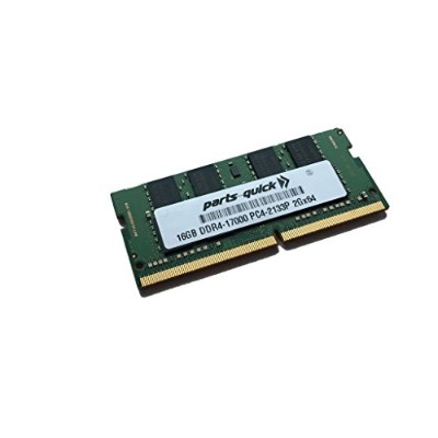 16GB Memory for HP ポイント of セール (POS) System MP9 G2 DDR4 2133MHz SODIMM RAM (PARTS-クイック BRAND) ...