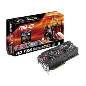 ASUSTeK AMD RADEON HD7950 オリジナルFAN「DirectCu II」搭載 HD7950-DC2-3GD5-V2 【PCI-Express3.0】