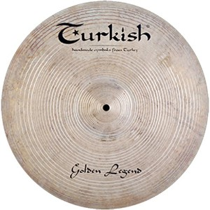 Turkish Cymbals Custom Series 21-inch Golden Legend Ride * GL-R21