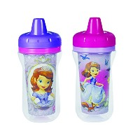 The First Years Disney Junior Sofia The First Insulated Sippy Cup, 2 Count (Color and design may...