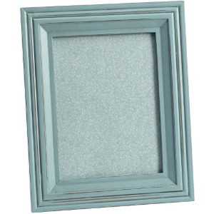Wooden Photo Frame Vintage Picture Shabby Duck Egg Blue Available in 7x5 or 8x6 by Homes on Trend