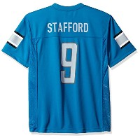 NFL Boys Player Name And Number Jersey ブルー