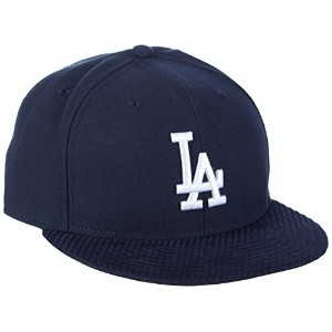 New Era 59 Fifty Flock Vize La Dodgersキャップ カラー: ブルー