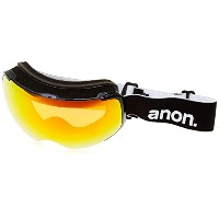 Anon m2Snow Goggles Black with Red Solex & Blue Lagoonレンズ