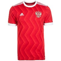 adidas Russia Home Men's Soccer Jersey 2017/サッカーユニフォーム ロシア ホーム用 (US-size-Small)