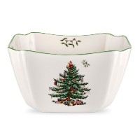 Spode Christmas Tree Square Bowl, Small by Spode