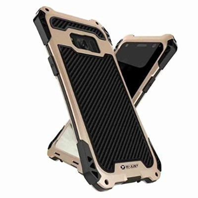 Galaxy S9 Plus Warrior Shell, TAITOU New Unique Cool Tough Rugged Metal Frame Bumper Anti-Scratch...