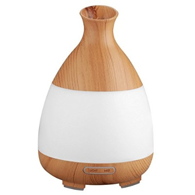 QKIFLY 120ml Aromatherapy Essential Oil Diffuser Portable Ultrasonic Cool Mist Humidifier Diffuser...