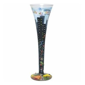New Year 's Champagne Flute by Lolita