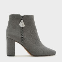 【SALE 30%OFF】アンクルブーツヒール / ANKLE BOOT HEELS (Grey) レディース
