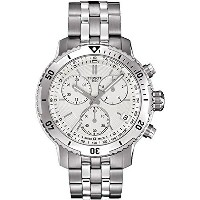 ティソ Tissot 腕時計 メンズ 時計 Tissot PRS 200 Stainless Steel Chronograph Mens Watch T0674171103101