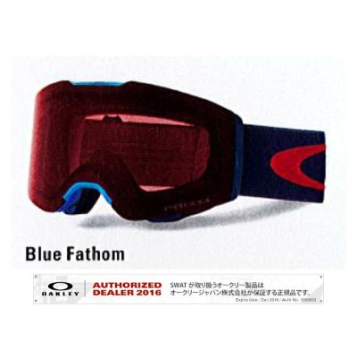 17/18 OAKLEY FALLINE Blue Fathom/Prizm Rose Asia Fit 【70860500】