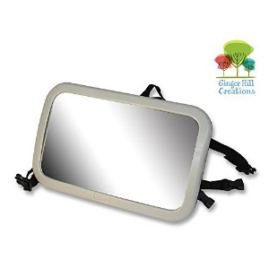 Back Seat Mirror: Mr. Peekatmee Backseat Baby Safety Mirror by Mr. Peekatmee