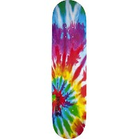 Mini-Logo Skateboards Small Bomb Shape 127 Tie-Dye Skateboard Deck, 8 x 32.125 by Mini-Logo...