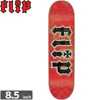 FLIP フリップ FLIP スケボー デッキ THRASHED RED GOLD DECK8.5 x 32.88 NO77