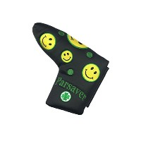 Smiley Faceパター用ヘッドカバー–by ParSaver–ゴルフパターカバーfor Scotty Cameron Odyssey Taylormade Titleist Ping...