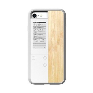 【国内正規品】OAXIS オアキシス InkCase IVY for iPhone 7 - Wood White
