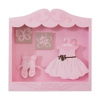 Lambs & Ivy Princess Shadow Box by Lambs & Ivy