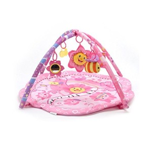Big Oshi Pink Flower Music Party Play Mat - pink, one size by Big Oshi