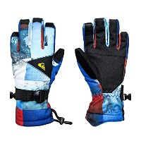 【QUIKSILVER クイックシルバー】 ユース スノーグローブ MISSION YOUTH GLOVE 【EQBHN03012 NMS6 L】