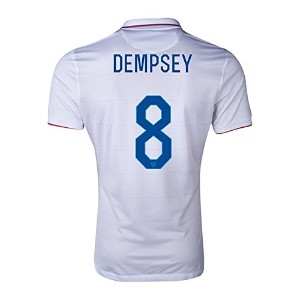 NIKE DEMPSEY #8 USA Home Jersey 2014/2015/サッカーユニフォーム アメリカ ホーム用 背番号8 デンプシー 2014-15 (S)