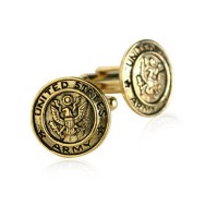US Army Cufflinksゴールドby Jewelry Mountain