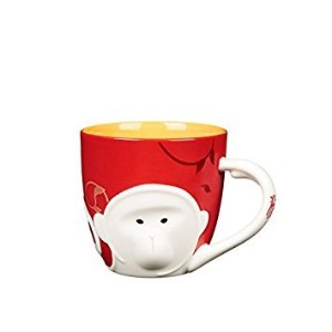Starbucks LunarコレクションNew Year Monkey Mug , 12 fl oz 2016