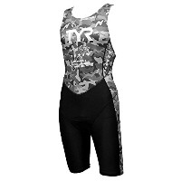 TYR(ティア) TRI-SUTE FOR SHOT COMP M/BACK ZIPPER SMST1-17S-GY グレー M
