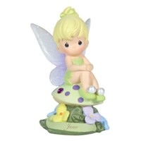 Precious Moments Disney Show Case Collection Collectible Figurine, June Fairy As Tinker Bell,...