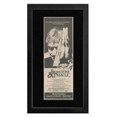 Brimstone & Treacle - Music By The Police Sting & The Go-gos Framed Mini Poster - 55x27.5cm