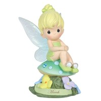 Precious Moments Disney Show Case Collection Collectible Figurine, March Fairy As Tinker Bell,...