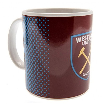 West Ham Boxed Mug Fade Design