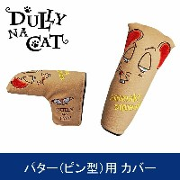 DULLY NA CAT GOLF PUTTER COVER PING TYPE (ダリーナキャット ゴルフ パター(ピン型)用 ヘッドカバー)