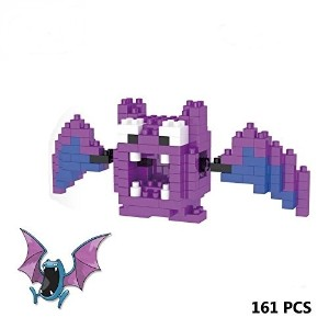 (ナノブロック) LNO Anime Pokemon Golbat Nano Block Diamond Mini Building Toys Pocket Monster-  polo