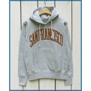Champion REVERSE WEAVE 12.5oz Pullover Hoodie Sweat parka / SANFRANCISCO 070 チャンピオン リバースウィーブ プルオーバー...