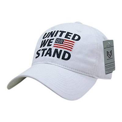 Rapid Dominance A03-1UWS-WHT United We Stand Relaxed Graphic Cap44; White